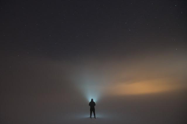 Mgła ,śnieg,gwiazdy i ja. pablo77 #313765