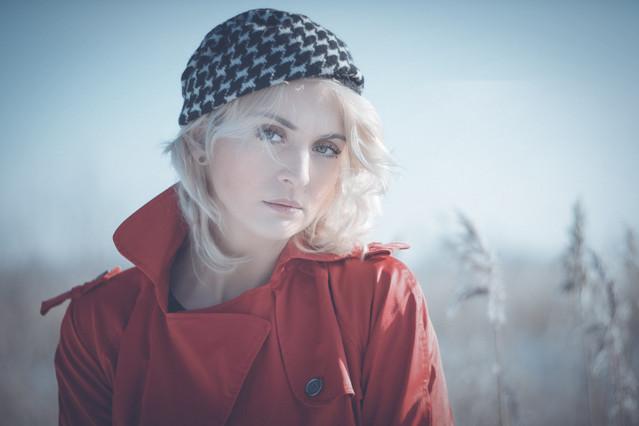 zimowa dziewczyna portret Sylwiana Czyrkuń #314693