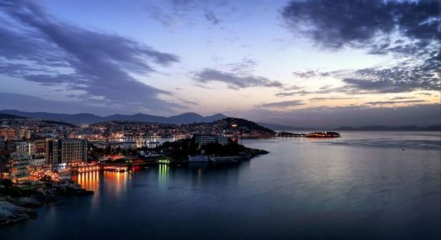 Pokochaj miasto nocą ! Kusadasi -Turcja Zbyszek1955 #336523