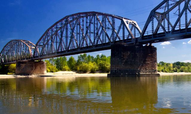 Most kolejowy Góra Kalwaria dzikowskileszek8 #193823
