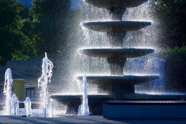 Piła - fontanna na wyspie Krzysztof Tollas #319742