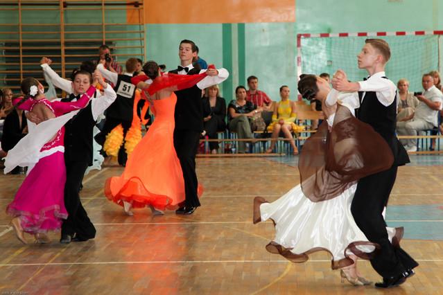 Turniej tańca towarzyskiego. Gemar Powitanie lata. Gemar