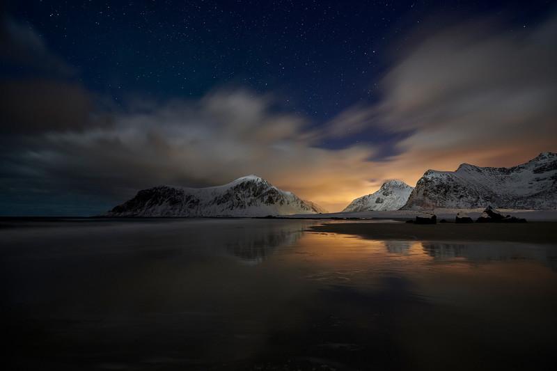 JAN SIEMINSKI|Noc na plazy Skagsanden