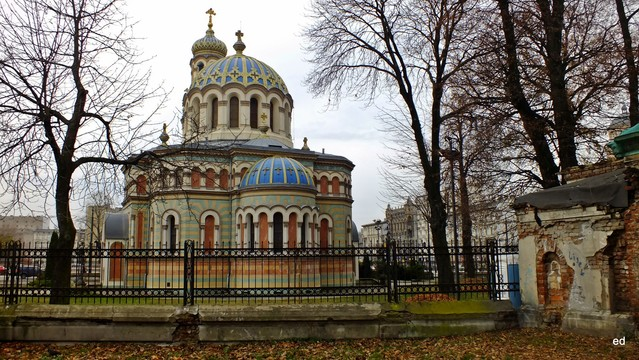 Cerkiew w Łodzi Picasa #300903