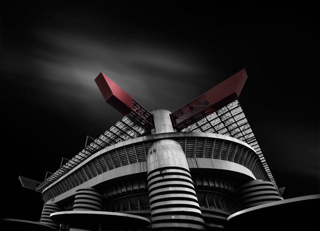 ''Red Horn'' Stadion Giuseppe Meazza ''San Siro'' wroblewski #269507