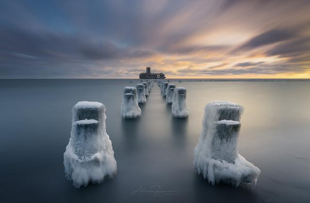Frozen Baltic Torpedownia - Babie Doły koło Gdyni. Artur