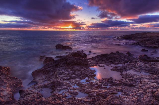 Wojciech Toman Sunrise on the Fuerteventura Island