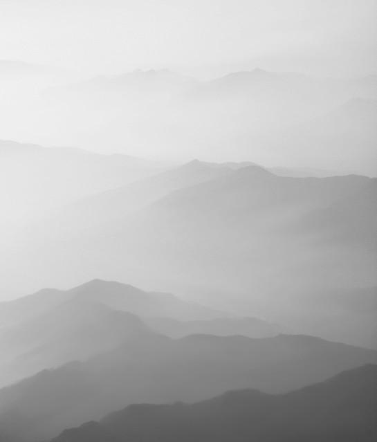 a w górach już mgła.... Stanisław Hawrus #323682