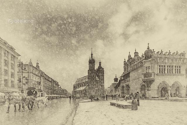Kraków zimą Renata Barska #308038