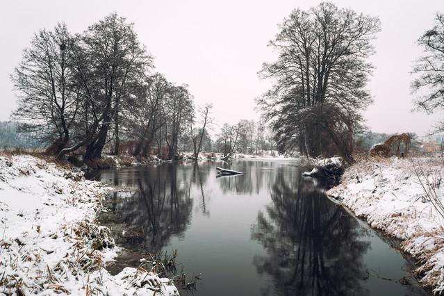 Zima nad Gwdą Krzysztof Tollas #305896
