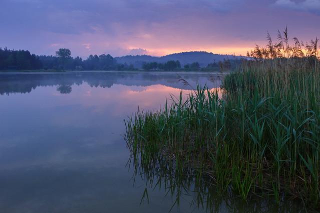 Wieczorny zalew Marcin Rydzewski #293901