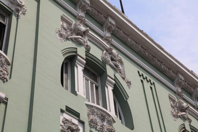 Calle de Baquijano. Lima. Peru. Lima, Peru. Piotr Schmidt
