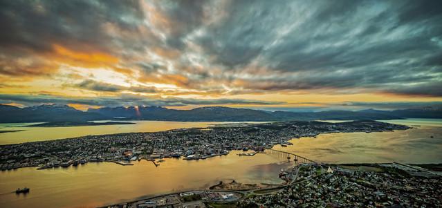 Tromso o zachodzie Igor Godlewski #311407