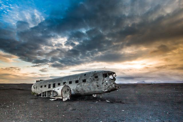 wrak DC-3 Islandia AgataBoguszewska #295359