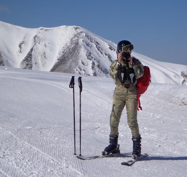 W Erzurum. Ja w akcji -:) . Fot. M.Ł. Elżbieta Rogaczewska