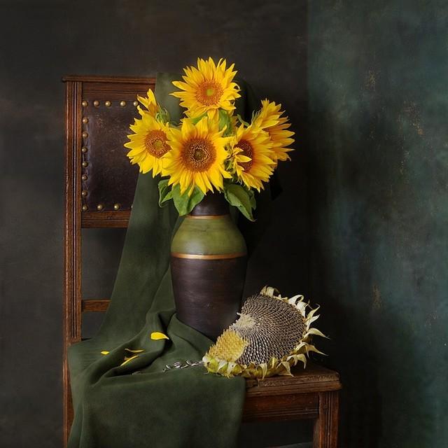 Martwa natura ze słonecznikami Marcel #296349