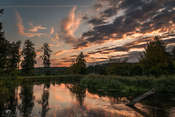 Krzysztof Tollas 09/09/2019, 5:35 - Wschód słońca nad Gwdą