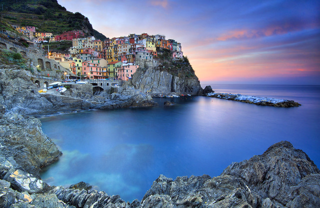 Manarola - National Park of Cinque Terre, Liguria - ITALY First
