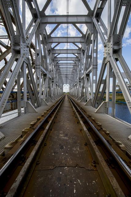 Most kolejowy pod Goniądzem Dariusz WojtaIa #319633