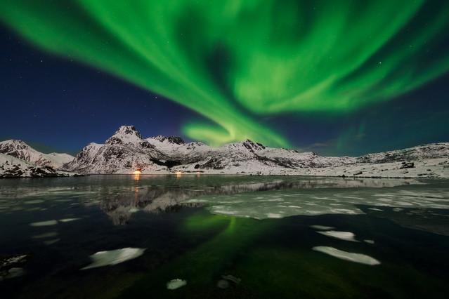 Aurora borealis II Norwegia cd. JAN SIEMINSKI #323759