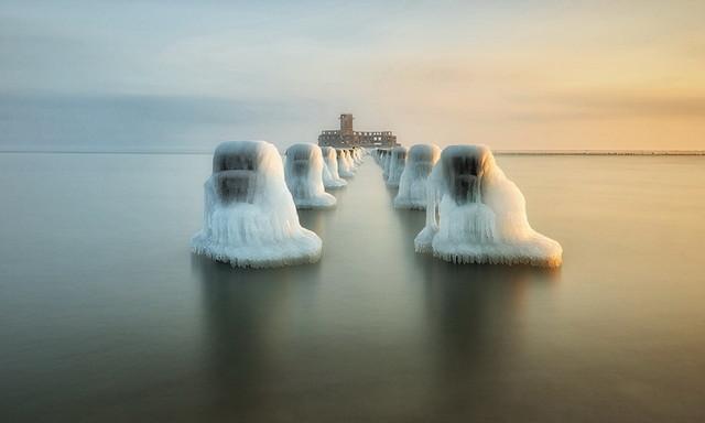 Zimowy Bałtyk II Gdynia JAN SIEMINSKI #287698
