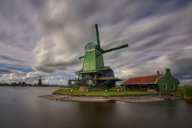 Wiatraki Zaandam, Holandia JAN SIEMINSKI #316919