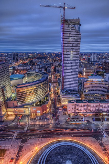 Warszawa o zmierzchu Wojciech Toman #204635