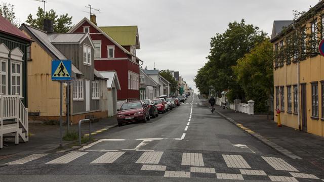 Reykjavik. Architektura współczesna i dawna. Islandia, Reykjavik