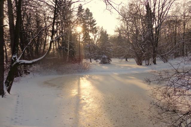 zimowe Łazienki Janina Godlewska-Gorczyca #185107