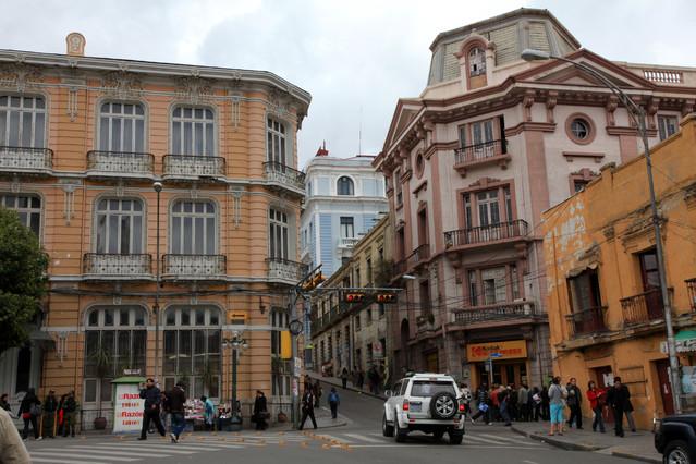 Plaza de los Heroes. La Paz. La Paz. Boliwia. Piotr Schmidt