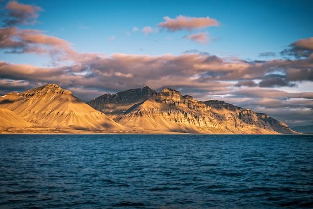 Billefjorden/Isfjorden 20:43 Zdjęcie z pokładu S/Y Sifu of Avon