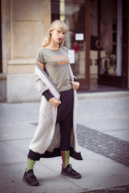 Plener Fashion 2 Modelka: Kasia Treala; Ubrania: Klara Koniecka