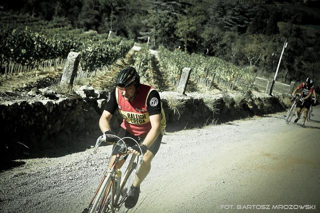 L'Eroica Zdjęcia zrobione podczas ''wyścigu'' zabytkowych rowerów