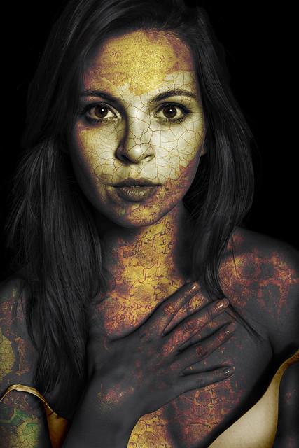 ANSIOSA portret artystyczny niebieskacytryna #324001
