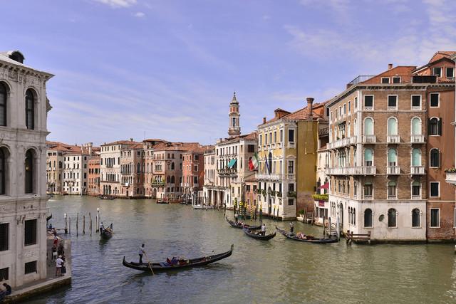 Canale Grande - Venezia Dariusz WojtaIa #321094