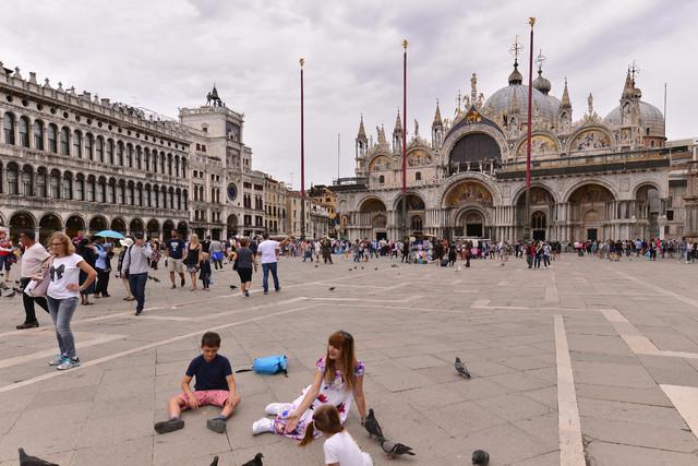 Plac i Bazylika św. Marka w Wenecji Dariusz WojtaIa #321098