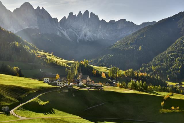 Santa Magdalena Dolomity, Włochy JAN SIEMINSKI #310879