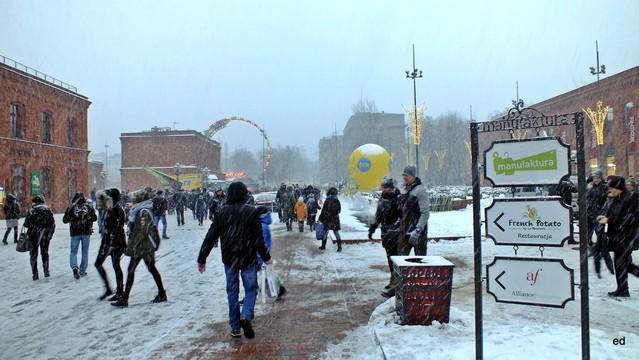Łódź WOŚP pogoda nie rozpieszczała Picasa #302472