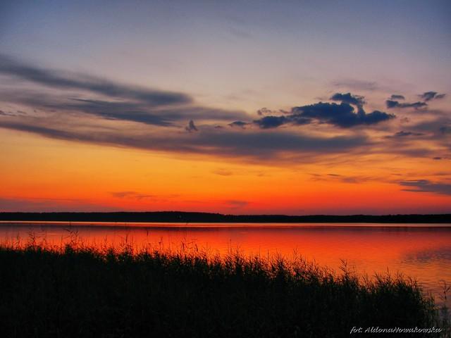 Aldona Nowakowska Zachód słońca