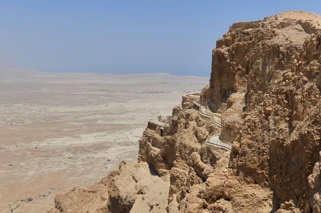 Masada - twierdza Heroda - Izrael Dariusz WojtaIa #323493