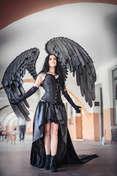 © Piotr Schmidt Gothic girl. Castle party 2021.