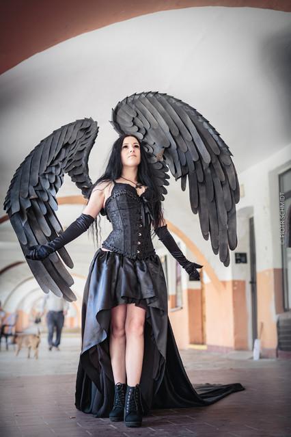 Gothic girl. Castle party 2021. Gothic girl. Castle party 2021.