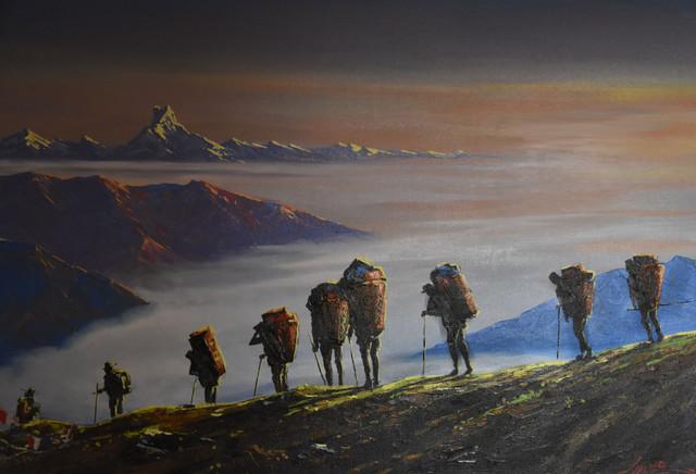 czas w góry... Stanisław Hawrus #321116