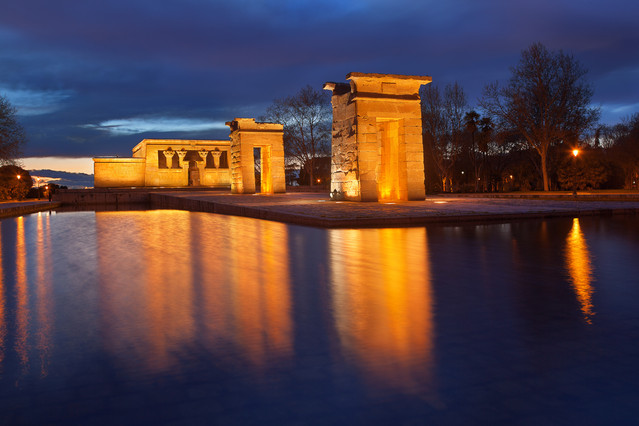Wojciech Toman Debod Temple in Madrid
