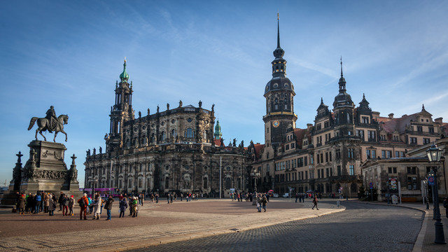 Theaterplatz. Drezno. Dresden Piotr Schmidt #301382