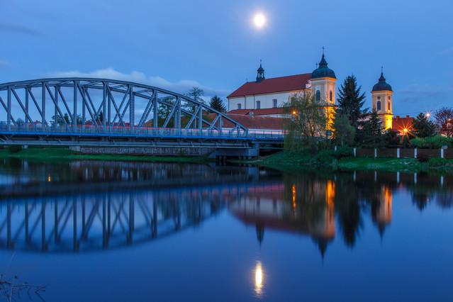 Księżyc nad Tykocinem Marcin Rydzewski #306624