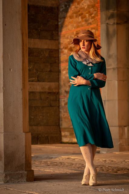 Dominika Mokrogulska Sesja fotograficzna w Pałacu Marianny