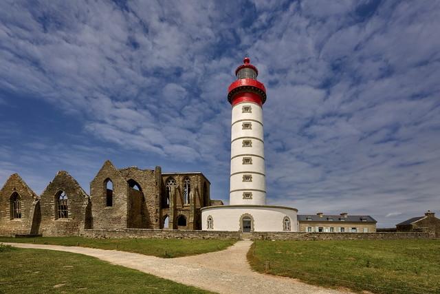 Saint-Mathieu, Brittany, France Saint-Mathieu, Bretania, Francja